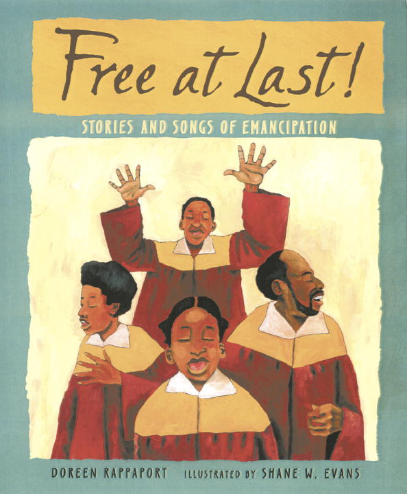 Free at Last! By Evans, Shane W. (ILT)